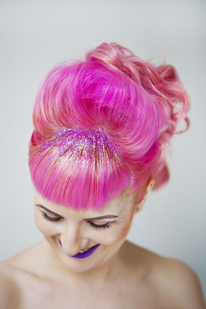 Hair Glitter Inspiration That Will Blow You Away Tumblr