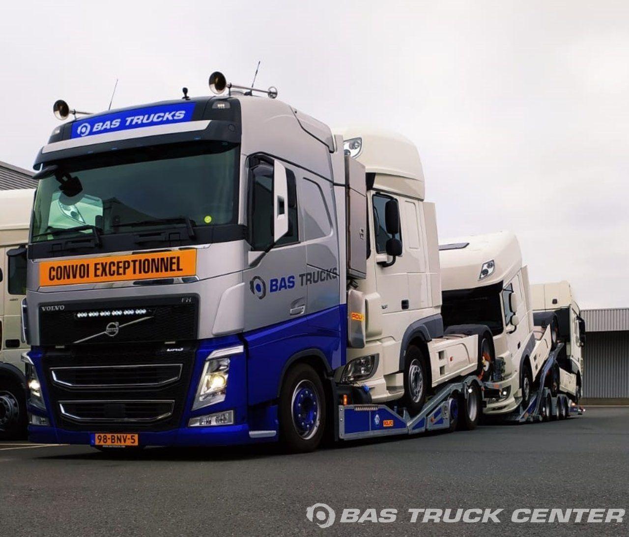 Afleveringen BAS Trucks B.V. BAS Truck Center in 2020