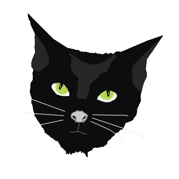 Kim Campbell Gifs Find Share On Giphy Black Cat Sticker Cat Stickers Kim Campbell