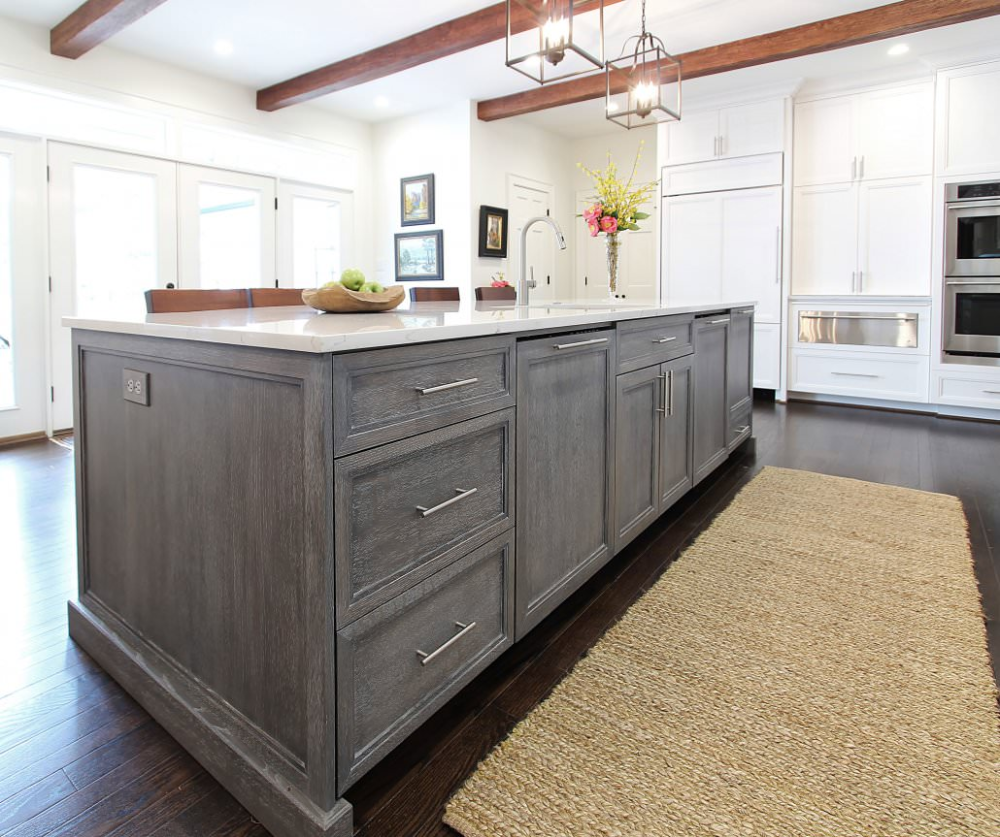 Why Oak Is Making A Comeback Walker Woodworking Stained Kitchen Cabinets Cerused Oak Walker Woodworking