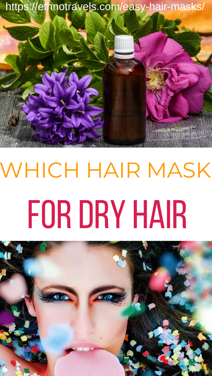 Easy hair masks for dry damaged hair which Indian hair