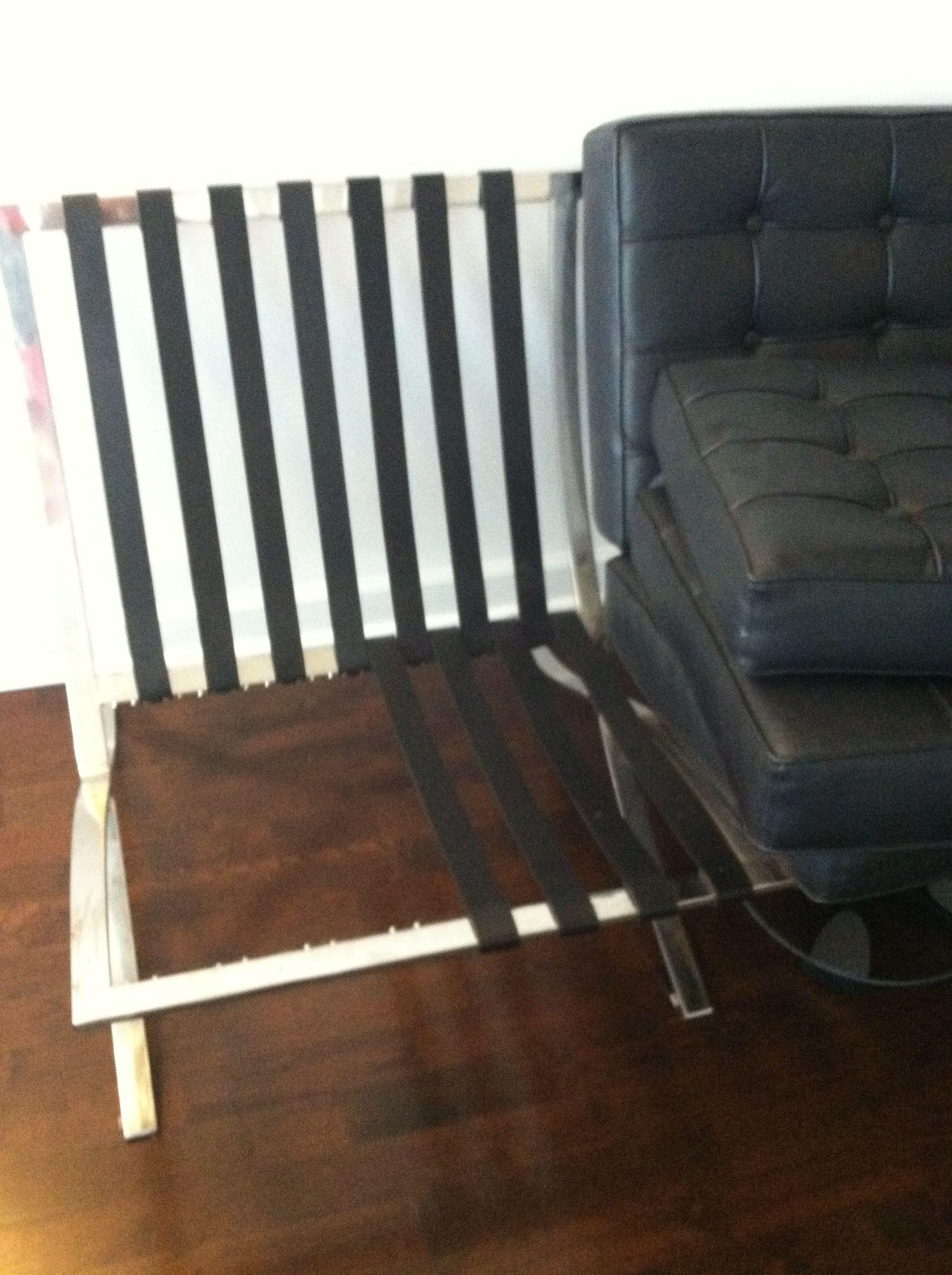 DIY Barcelona Chair Repair