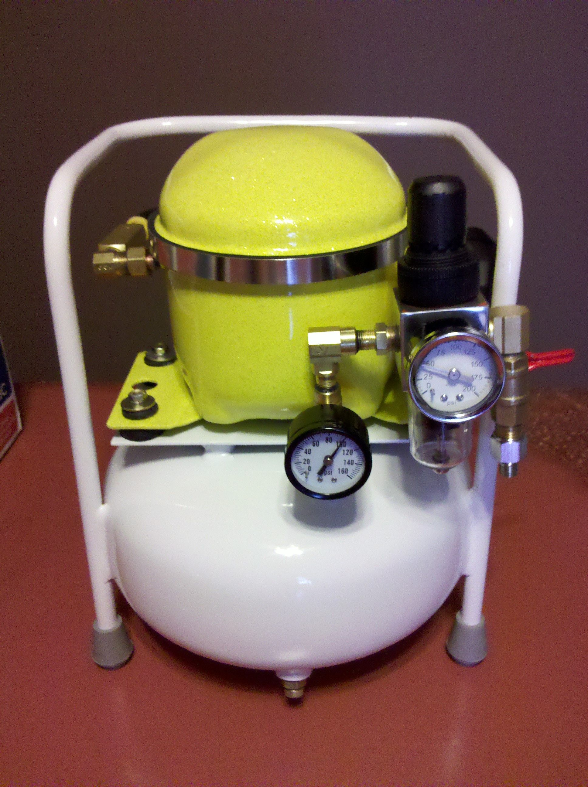 homemade silent air compressor must be wizardry