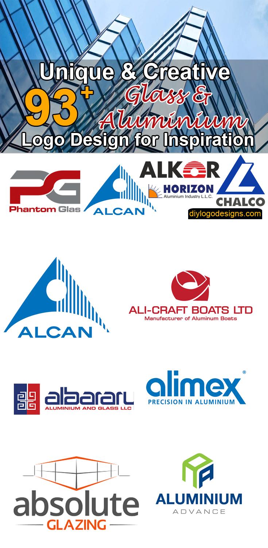 93+ Best Glass and Aluminium Company Logo Design #logos # ...