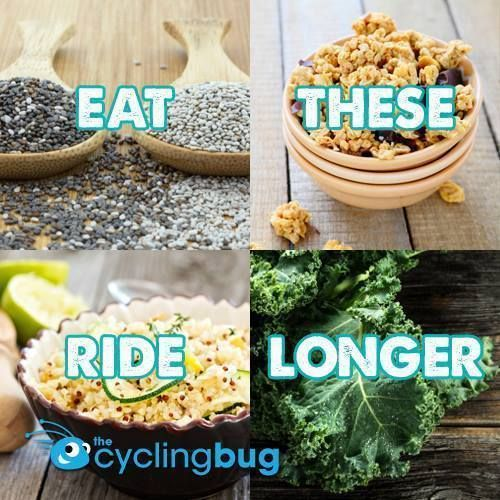 4 SLOW ENERGY RELEASE FOODS: http://thecyclingbug.co.uk/health-and-fitness/food-and-nutrition/b/weblog/archive/2014/09/24/eat-this-and-ride-longer-4-slow-energy-release-foods-for-cyclists.aspx?utm_source=Pinterest&utm_medium=Pinterest%20Post&utm_campaign=ad If it's endurance you're after from your pre-workout meals, then these 4 slow burners are guaranteed to get you going longer.... #Cycling #thecyclingbug #CyclingTips #Nutrition