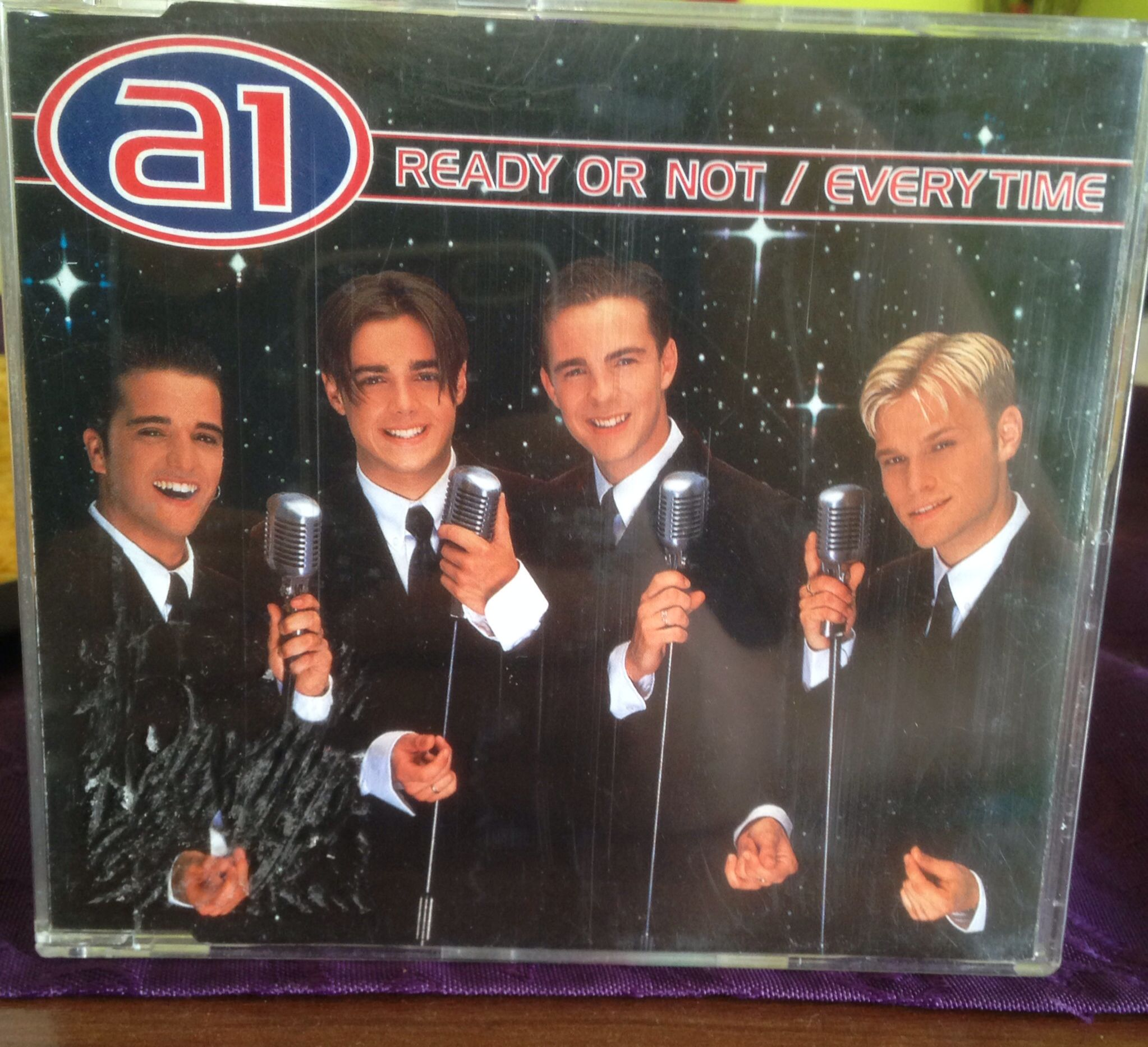 Ready or Not/Everytime A1 band, 80s icons, Baseball cards