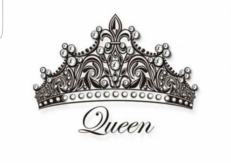 King And Queen Tattoo Font: Pin De Giselle Reina En Coronas