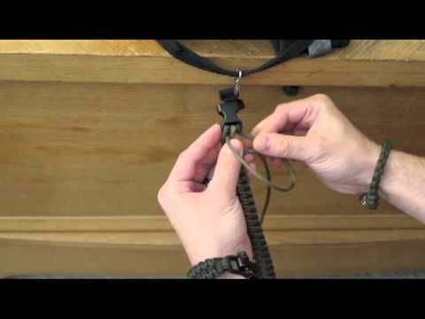 How To Tie A 2 Color Paracord Bracelet Without Melting The
