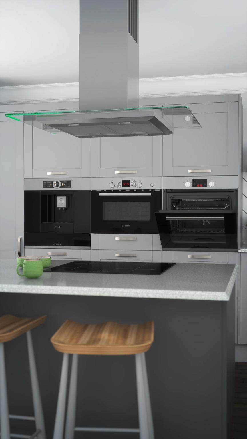Photo of Cerchi ispirazione per la cucina? Dai un'occhiata al nostro elegante applia integrato …