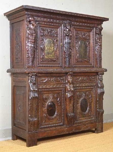 Domaine Mobilier Denomination Armoire Auteur Executant Sambin Hugues Maniere De Bredin Evrard Peintre Titre Carved Furniture Baroque Furniture Furniture