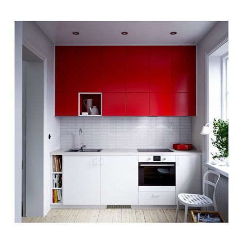 fastbo rev tement mural ikea kitchen pinterest photos de cuisine petite cuisine et. Black Bedroom Furniture Sets. Home Design Ideas
