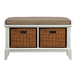 Entryway Benches With Storage Crate And Barrel White Storage Bench Storage Bench Bench With Storage