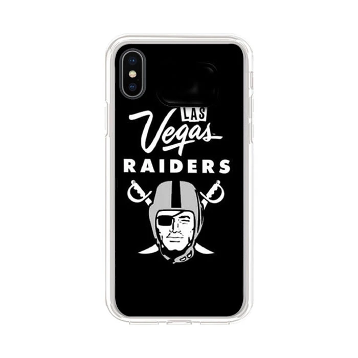 Las Vegas Raiders iPhone X Clear Case | Clear cases, Case, Iphone