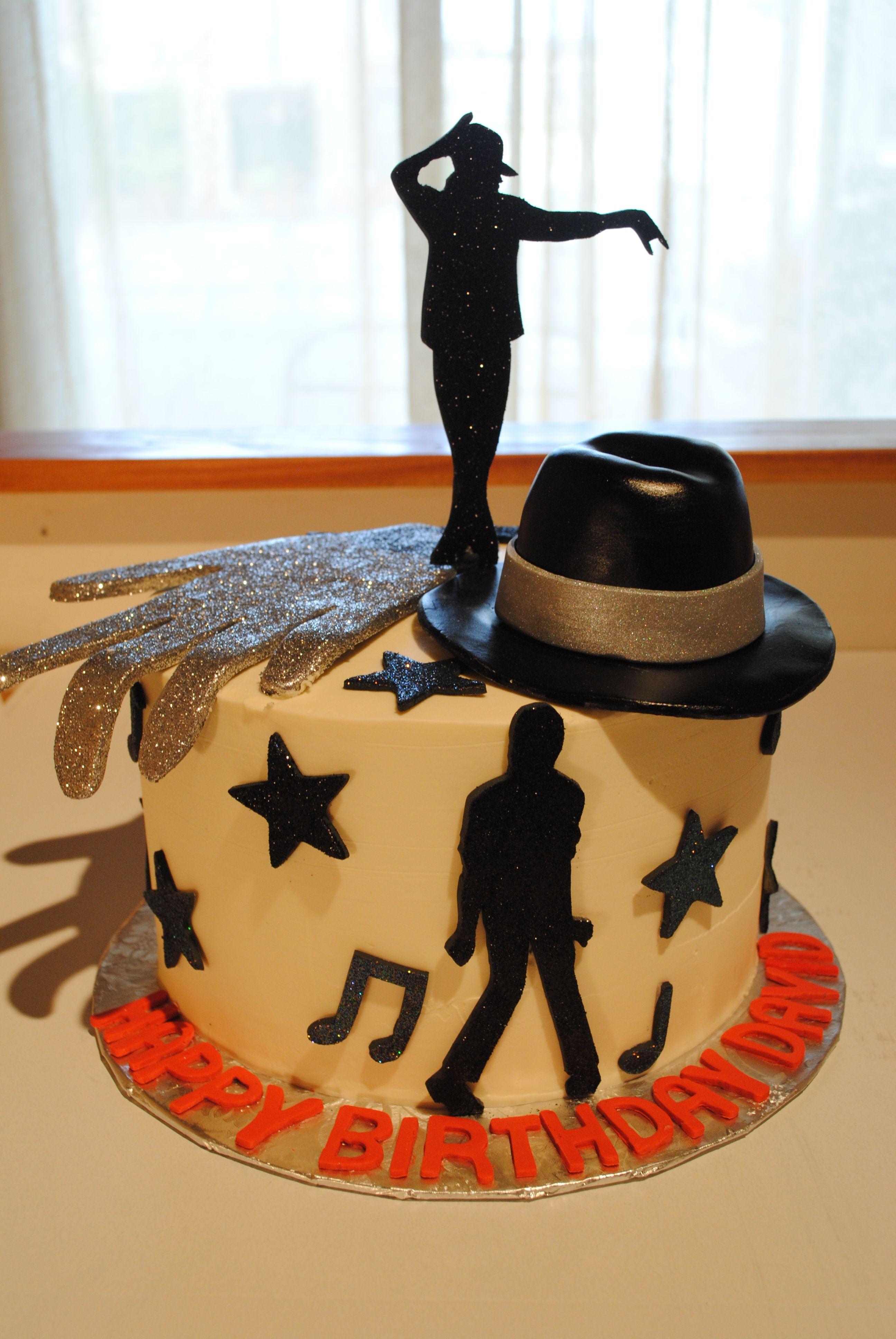 Michael Jackson Cake Michael Jackson Cakes Pinterest