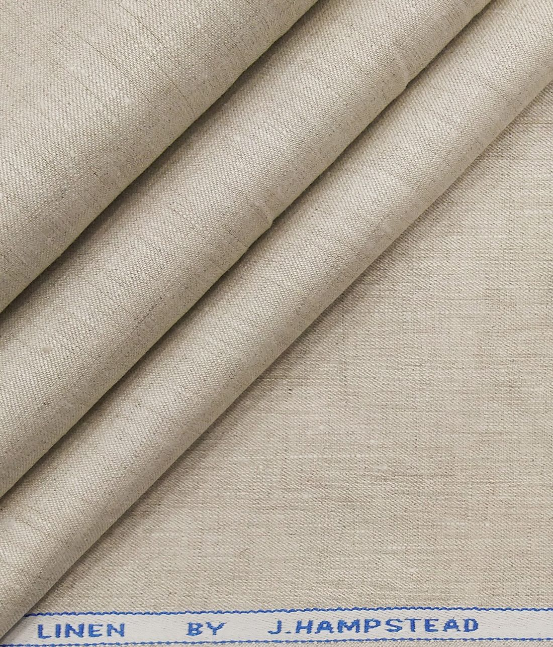 J Hampstead Men S Tan Beige 60 Lea 100 European Linen Solid Unstitched Suiting Fabric Fabric Suit Fabric European Linens