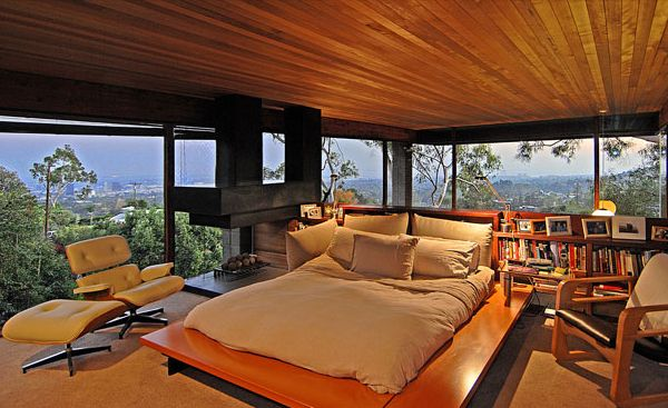 Luxury glass home in los angeles with valley views for - 5 bedroom house for sale los angeles ...