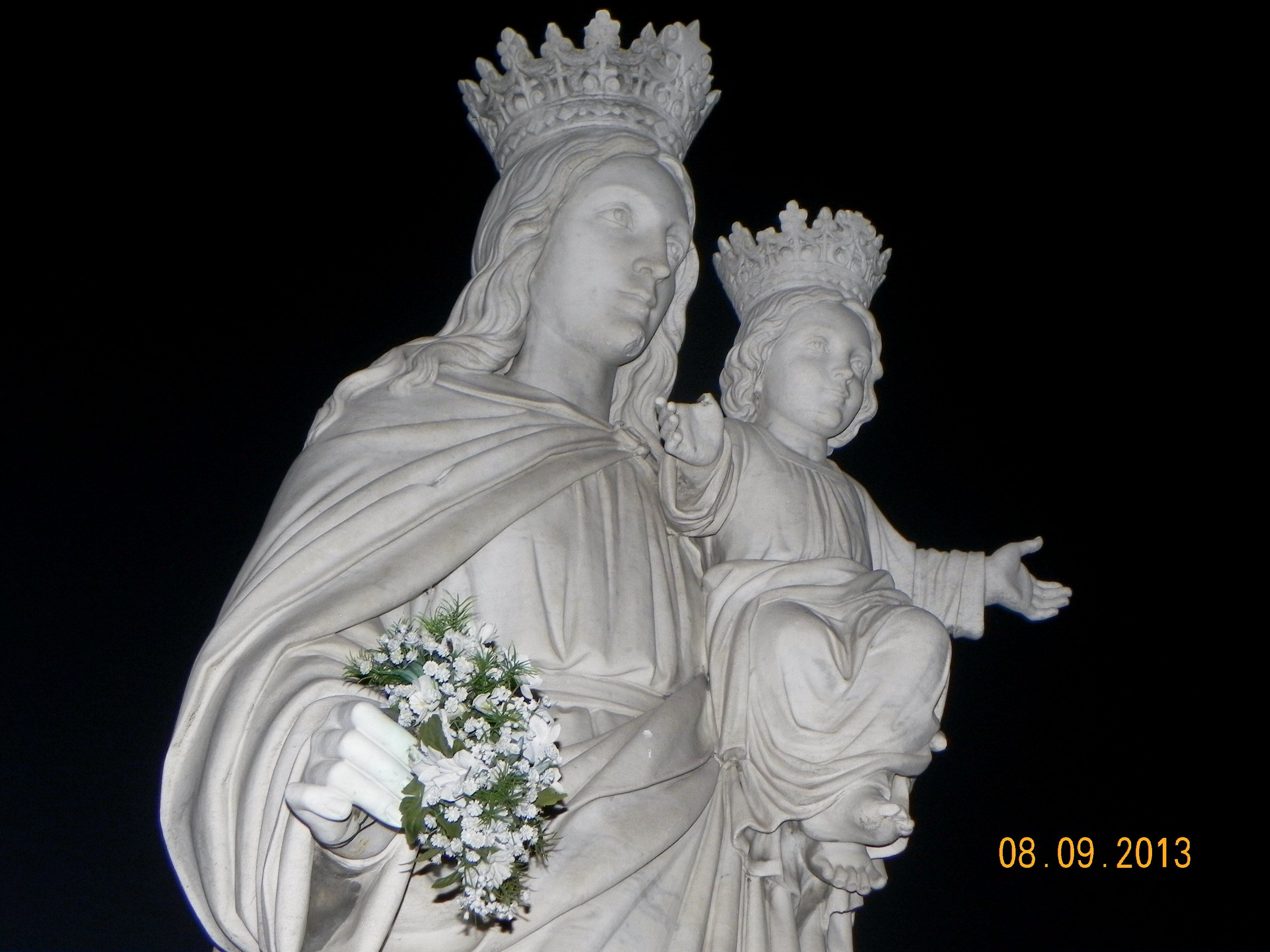 """Thank You and Happy Birthday to Blessed Mother"
