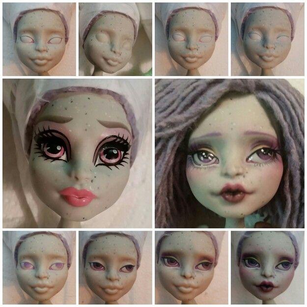 Skeriosities monster high custom rochelle goyle repaint tutorial