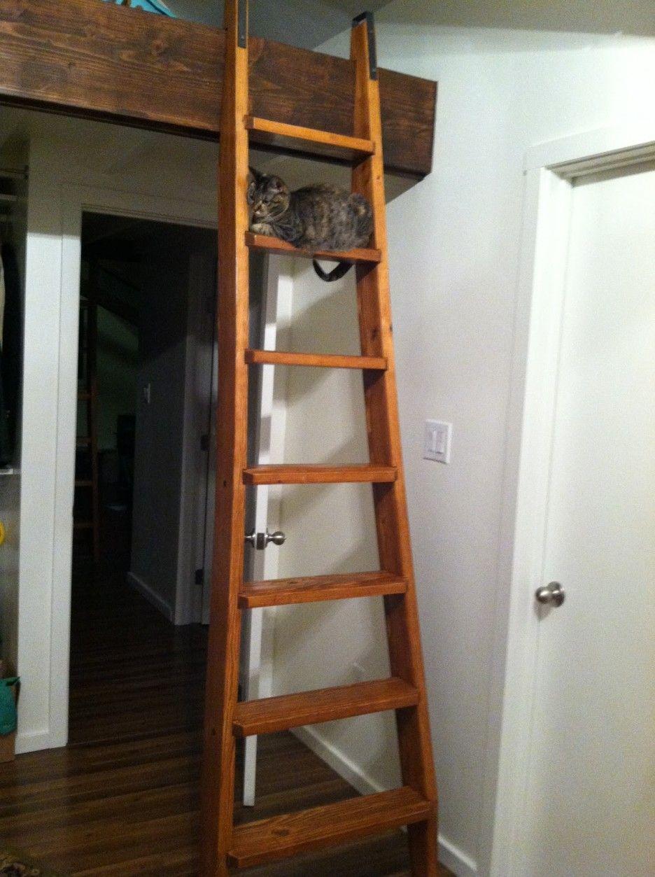 Interior Divine Picture Of Home Interior Design And Decoration Using Solid Oak Wood Loft Ladder Includin Attic Ladder Interior Wall Paint Home Interior Design