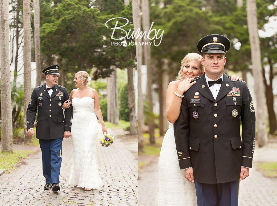 Army wedding dresses