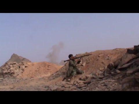 Guerra no Iêmen - Infantaria Houthi ataca tanques sauditas [junho, 2015]