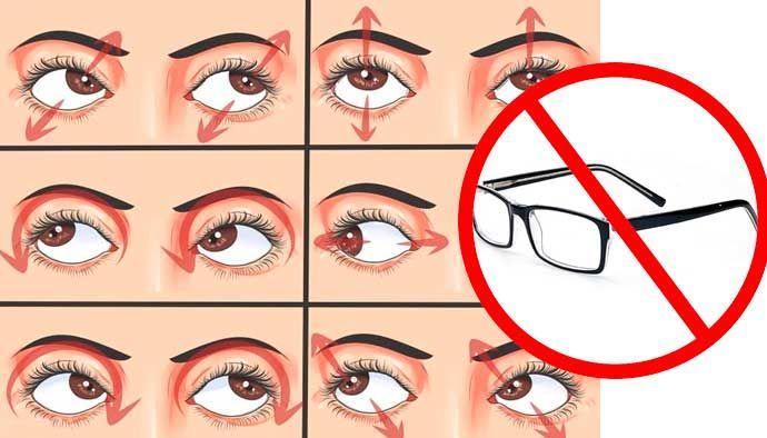 Los Oftalmólogos Nos Ocultan Esta Técnica Para Mejorar Tu Vista No Uses Mas Lentes Eye Health Healthy Eyes Eye Exercises