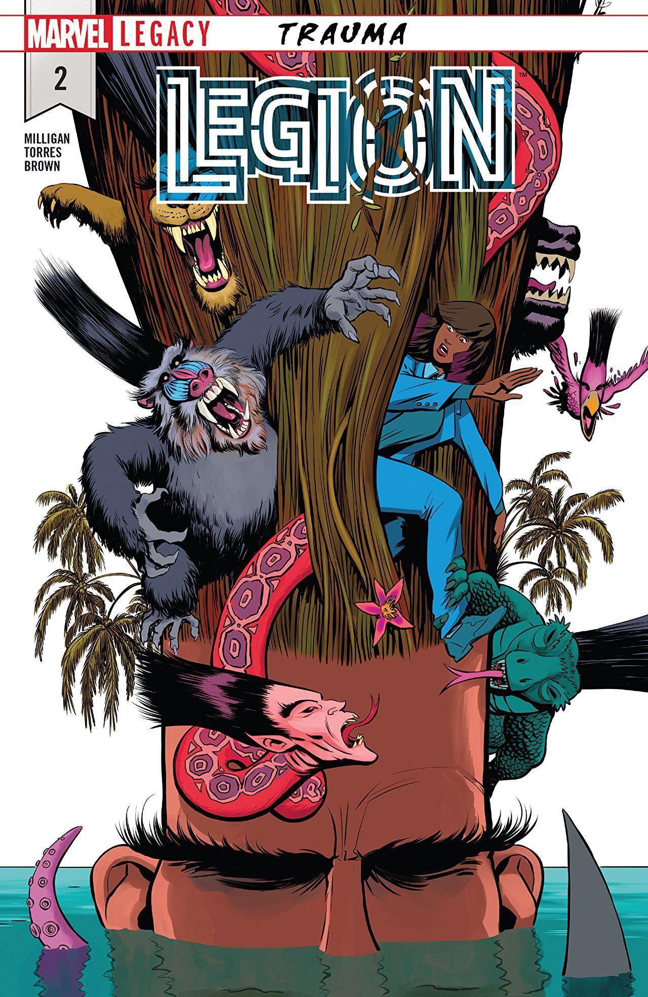 Legion 2018 2 Of 5 Comics By Comixology Marvel Legion Legion Legion 2