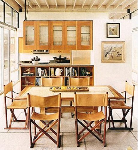 Kitchen Without Furniture: Rugged Classic Cool: Campaign Furniture
