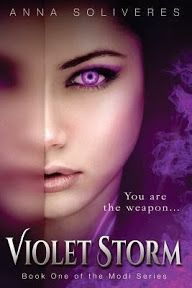 BLOG TOUR & GIVEAWAY: Violet Storm by Anna Soliveres   My Little World