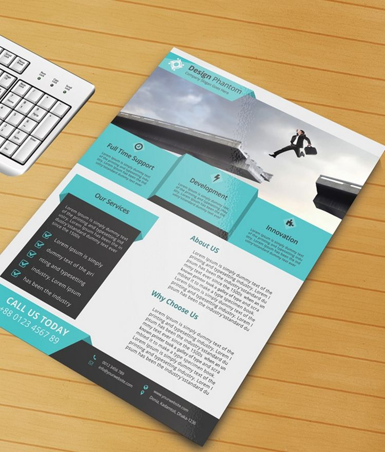 Discover The Business Flyer Free Psd Template And Learn How To