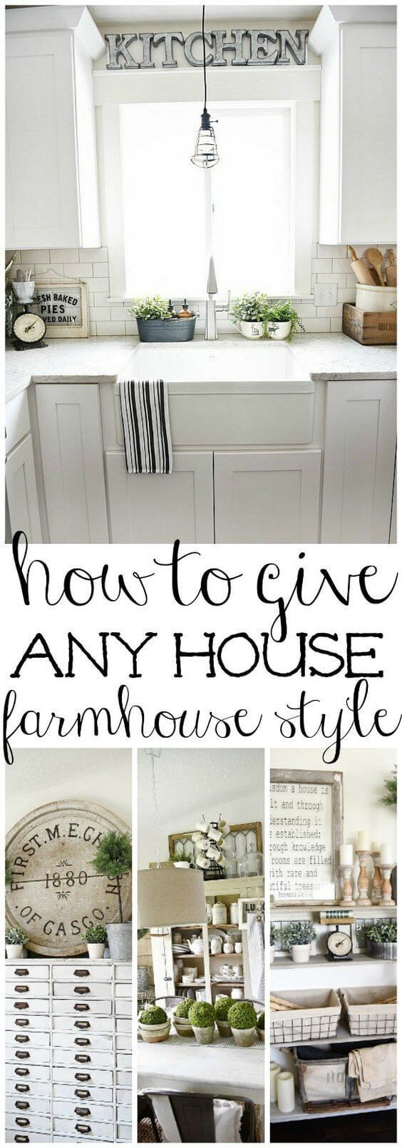 291653081 Urob si sám · How to Give Anything Farmhouse Style by Liz Marie | DIY  Farmhouse Projects for Fixer Upper