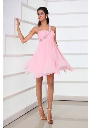 Pale Pink Cocktail Dress - Ocodea.com