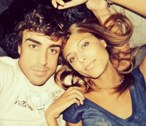 Dasha Kapustina, a Fernando Alonso: 'Estoy orgullosa de ti, te amo y te extraño'
