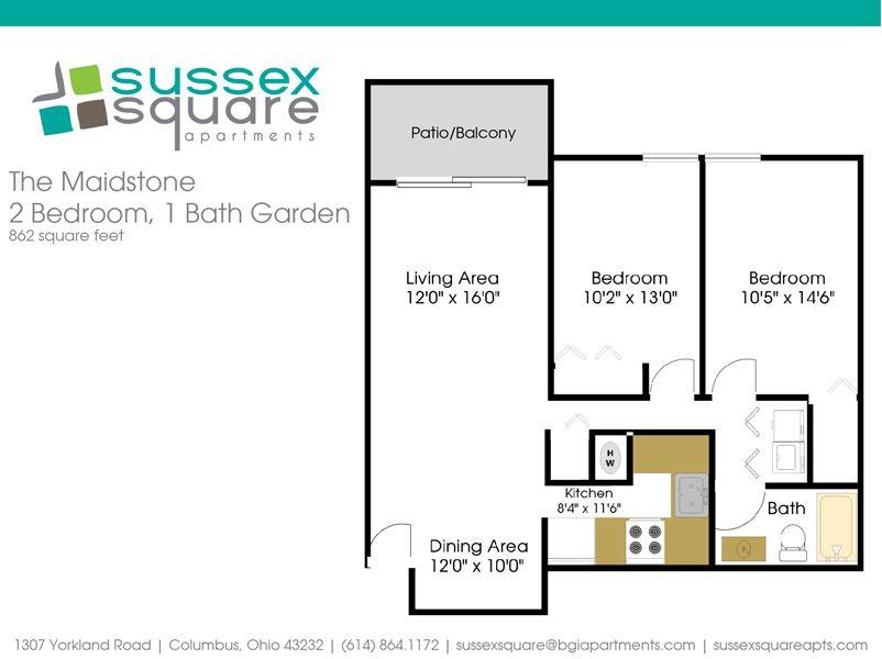Sussex Square Apartments Columbus Ohio | Sussex Square