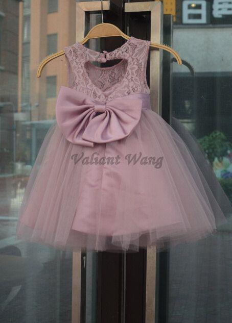 5044c95f7 Gran Faja/Lazo rústico bebé cumpleaños vestido por Valiantwang ...
