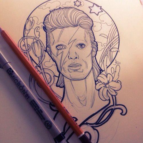 david bowie tattoo tumblr - Google Search