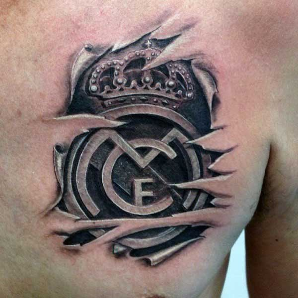 45 awesome real madrid tattoos tatto pinterest real madrid madrid and tattoo. Black Bedroom Furniture Sets. Home Design Ideas
