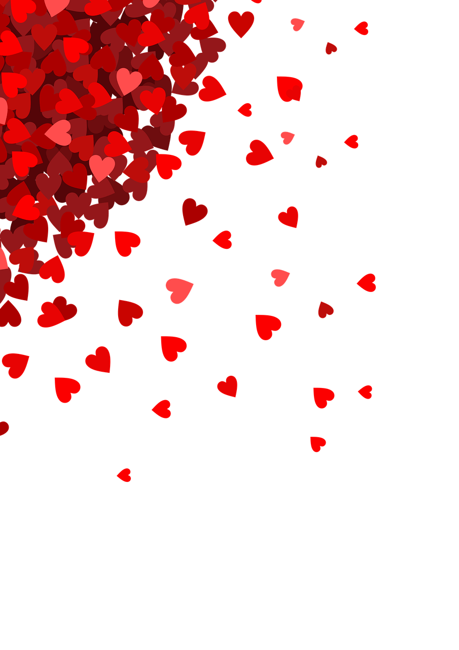 Heart Background Png : heart, background, Small, Hearts, Corner, Transparent, StickPNG, Valentines, Wallpaper,, Background,, Heart, Wallpaper