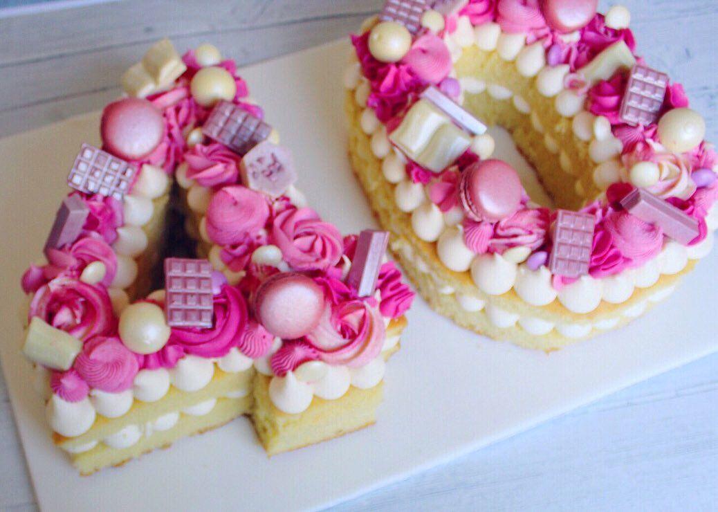 40 Pink Cake Tartas Tartas De Numeros Ingredientes De La Torta