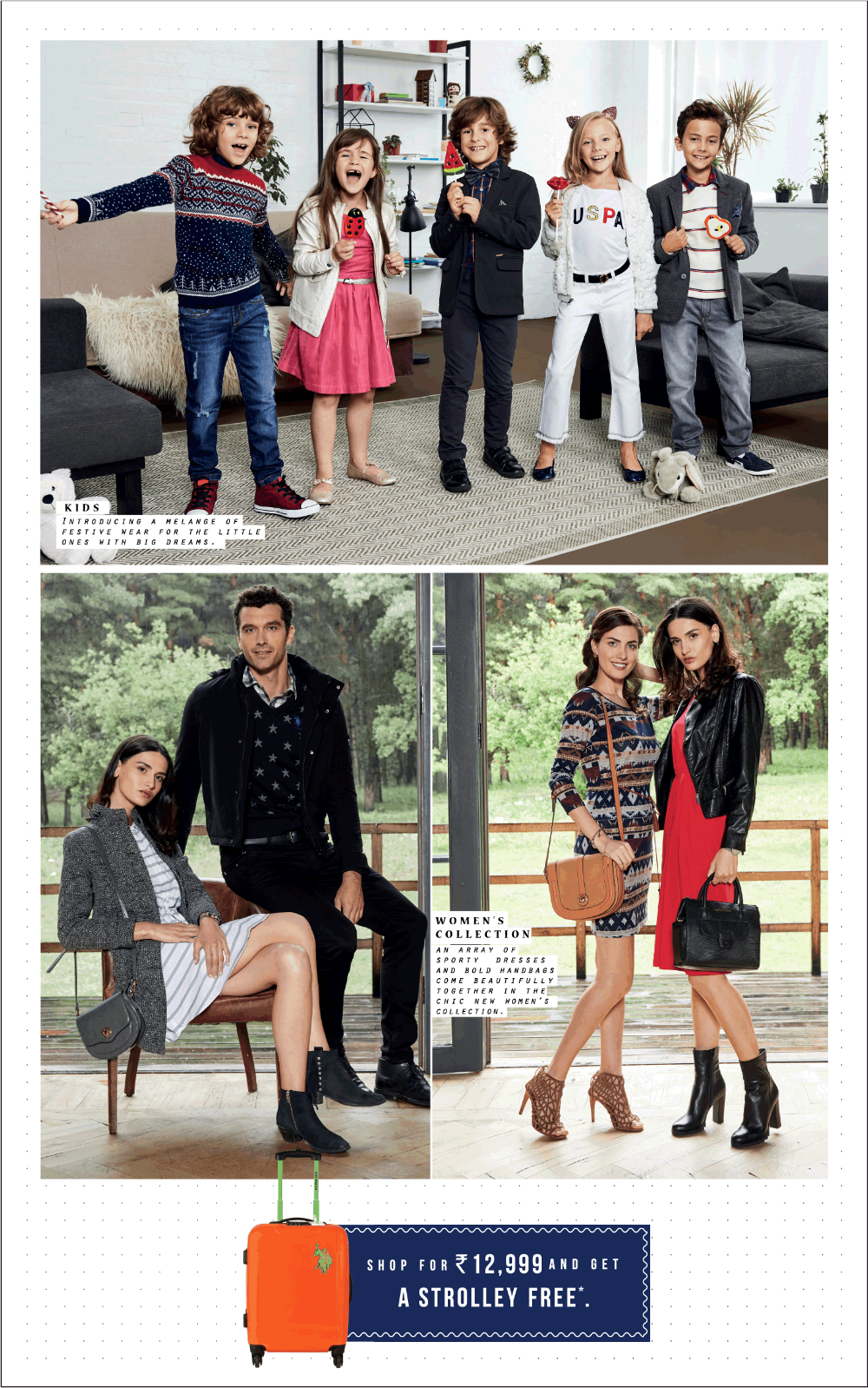 U S Polo Assn Shop For 12999 And Get A Trolley Free Ad Delhi Times 02 11 2018 Polo Assn U S Polo Assn Free Ads