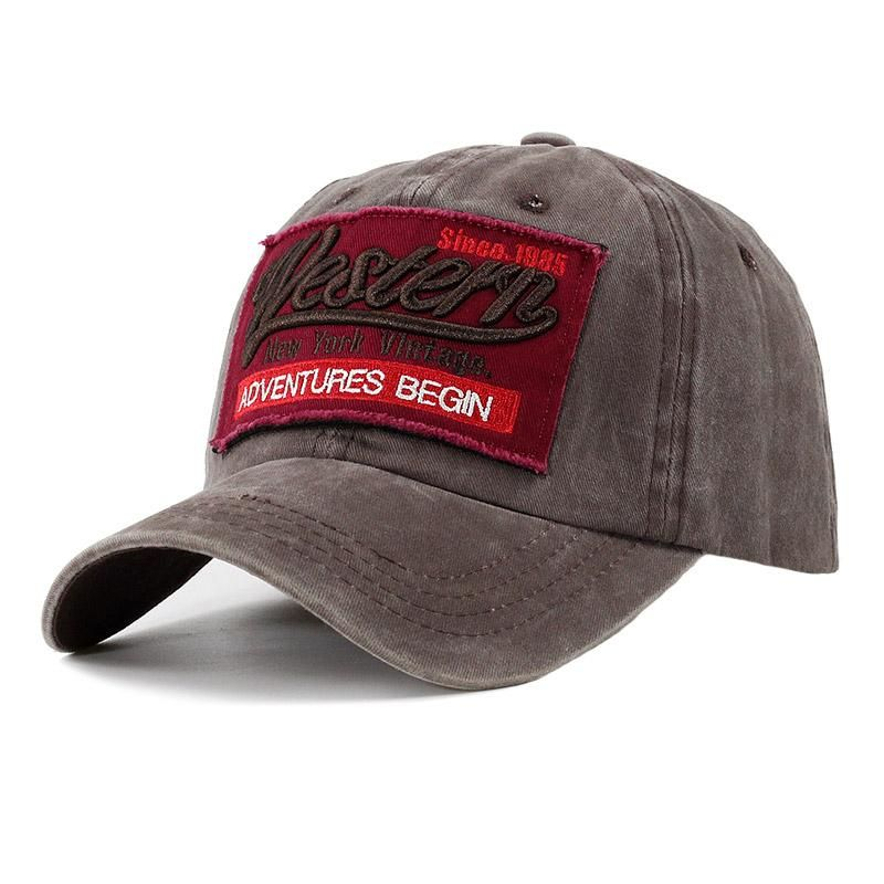 100 Cotton Brand Women Baseball Cap Casual Snapback Hat For Men Dad