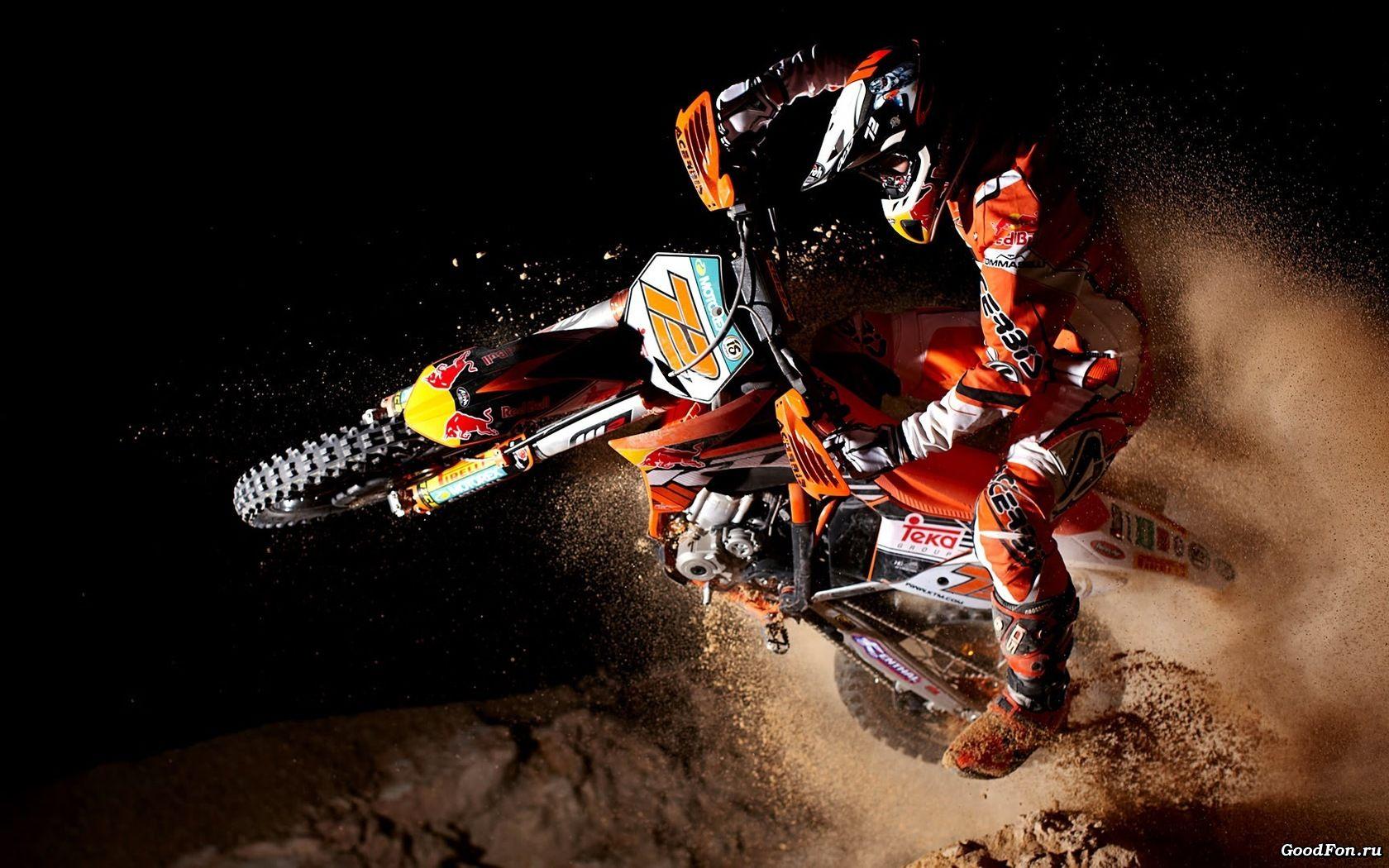 Motocross Wallpaper Descargar Fondos de pantalla casco de