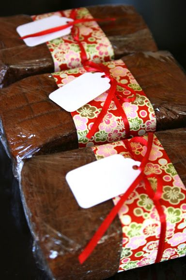 Holiday Bread Wrapping Bake Sale Packaging Christmas