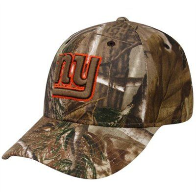 e9b4613be04 Reebok New York Giants Realtree Camo Open Field Adjustable Hat  21.95