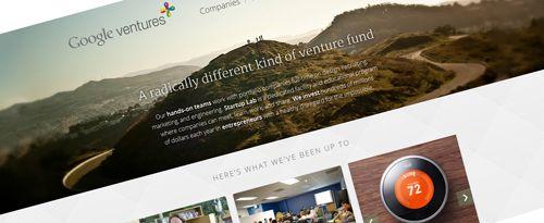 L'exemple à suivre de la semaine : Google Ventures   Blog Webdesign
