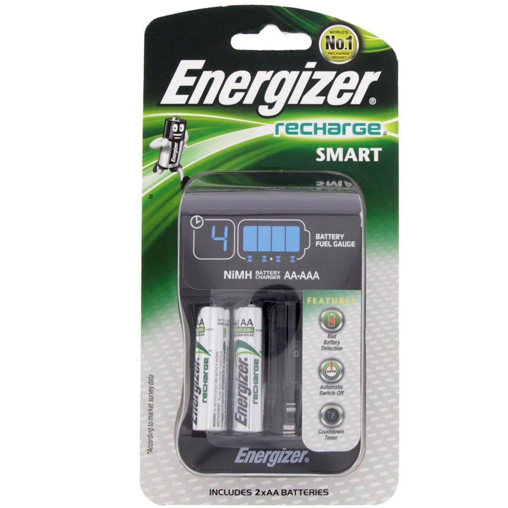 Lights Shop In Qatar: Buy Energizer Smart Charger + Rechargeable AA Battery