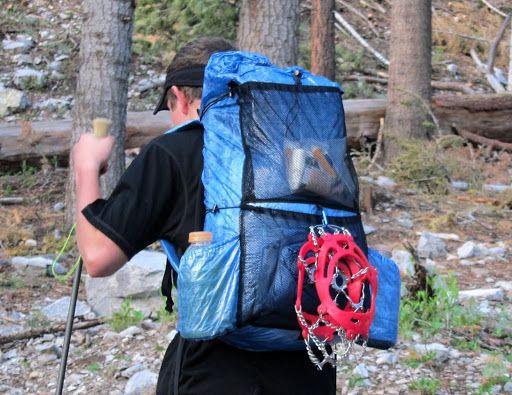 Make Your Own Cuben Fiber Backpack Ultralight Backpacking Backpacking Gear Camping Gear Diy