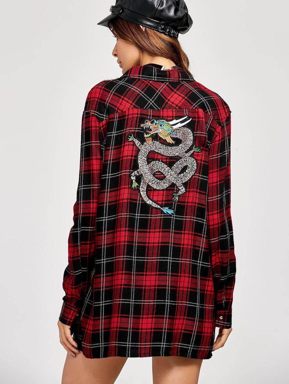 Flannel shirt season  Retro Style Plaid Flannel Shirt  mrs potato  Pinterest  Plaid