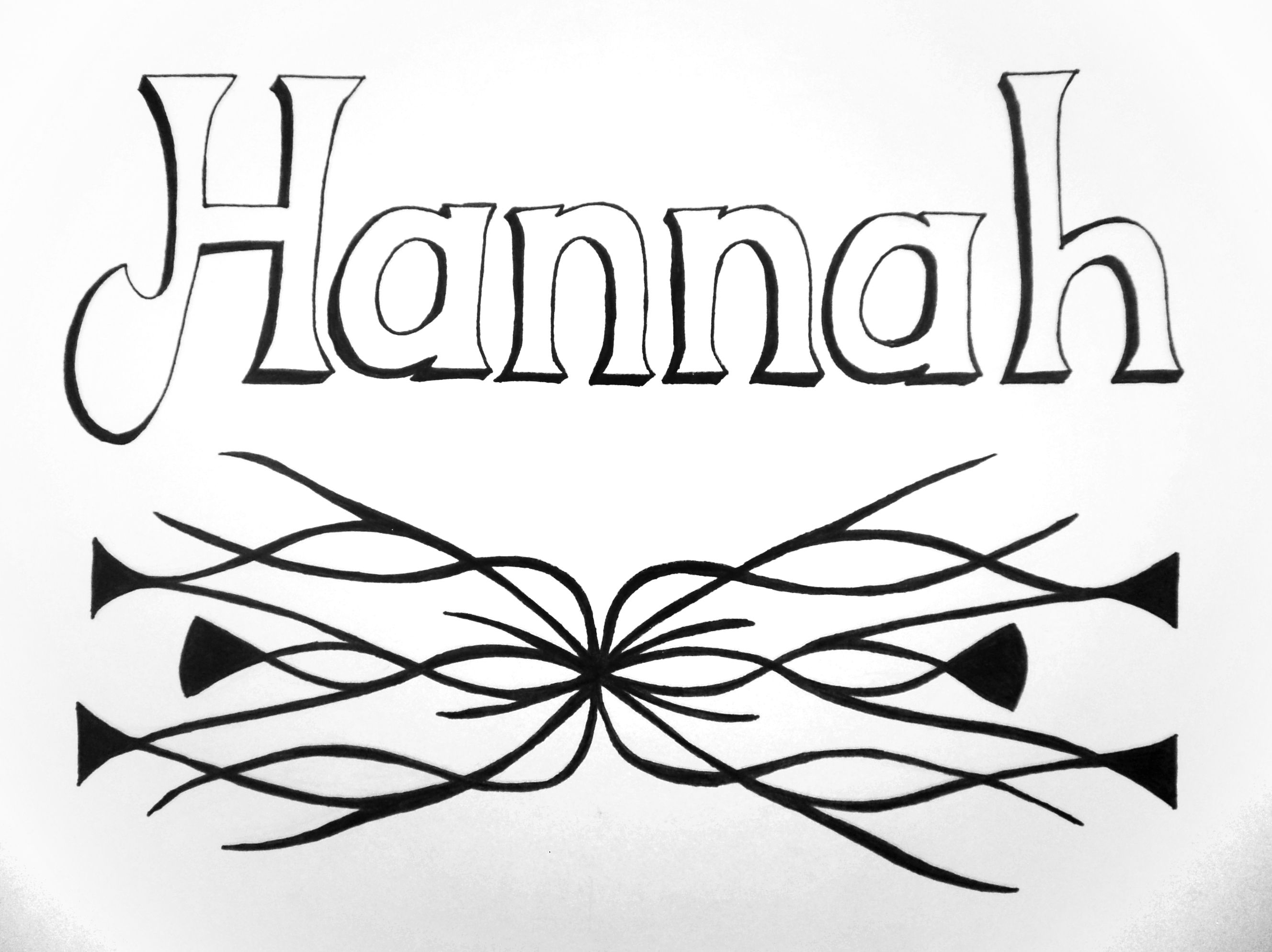 Name Design Hannah