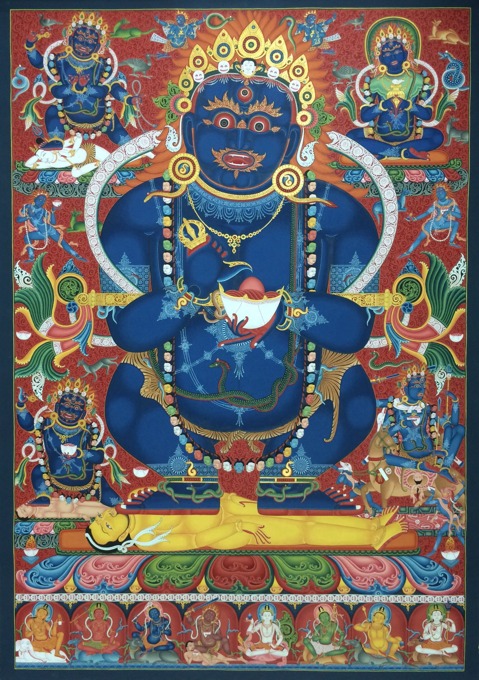 Buddhist Art, Thangka Painting & Courses by Carmen Mensink